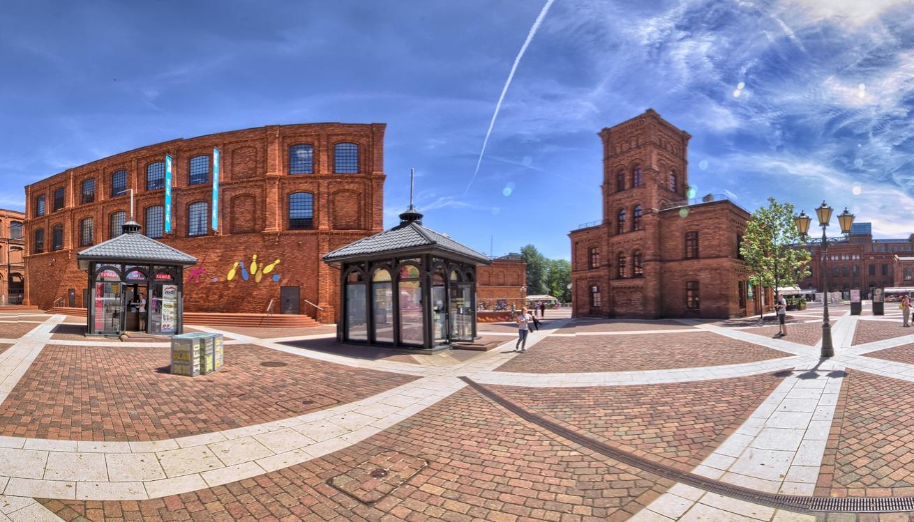 centrum handlowo-usługowe manufaktura Łódź